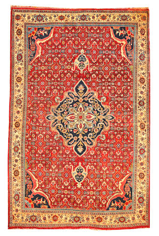 A Bidjar rug  Northwest Persia size approximately 4ft. 7in. x 7ft. 1in.