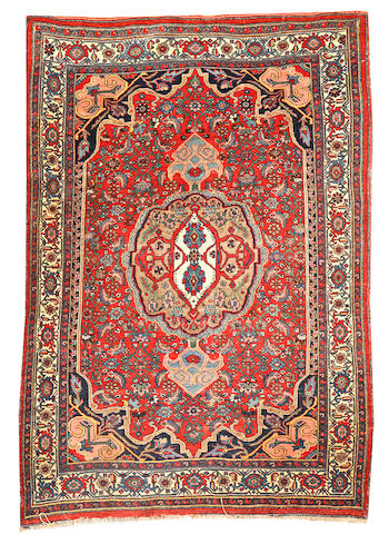 A Bidjar rug Northwest Persia size approximately 4ft. 8in. x 6ft. 9in.