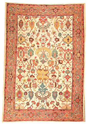 A Sultanabad carpet  Central Persia size approximately 9ft. x 13ft.