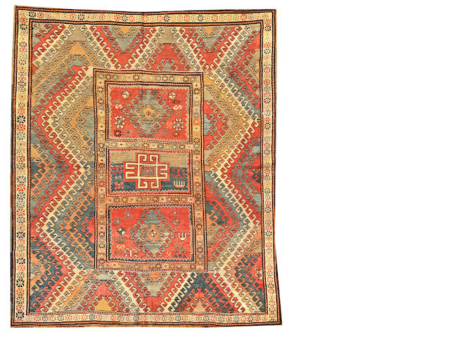 A Borchalu rug  Caucasus size approximately 6ft. 7in. x 7ft. 8in.