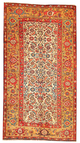 A Bidjar rug  Northwest Persia size approximately 4ft. 1in. x 7ft. 5in.