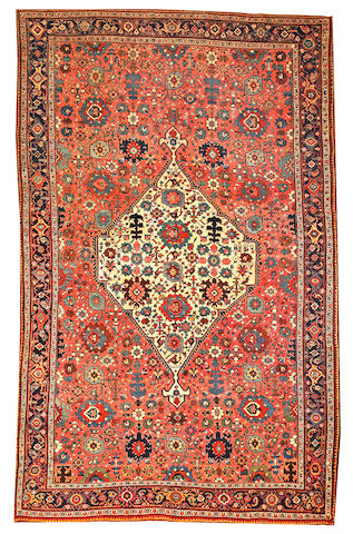 A Bidjar long carpet Northwest Persia size approximately 7ft. 5in. x 11ft.
