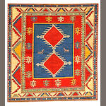 A Borchalu rug  Caucasus size approximately 3ft. 11in. x 4ft. 2in.