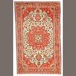 A Sarouk Fereghan rug  Central Persia size approximately 4ft. x 6ft. 3in.