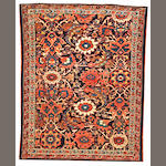 A Malayer rug  Central Persia size approximately 3ft. 4in. x 4ft. 3in.