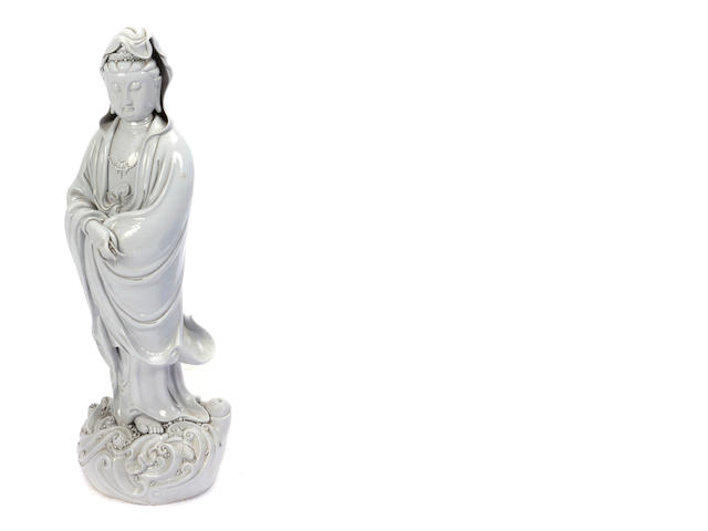 A large Chinese figure of Guanyin
