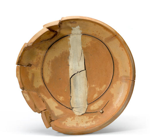 Peter Voulkos (1924-2002) Untitled (Plate), 1979 (CR754.0-G) diameter 22 1/2in (57.2cm)