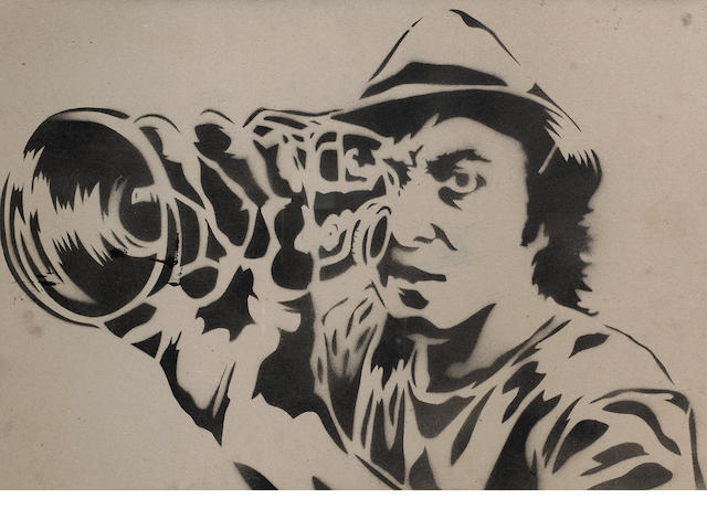 Mr Brainwash (French) Self Portrait