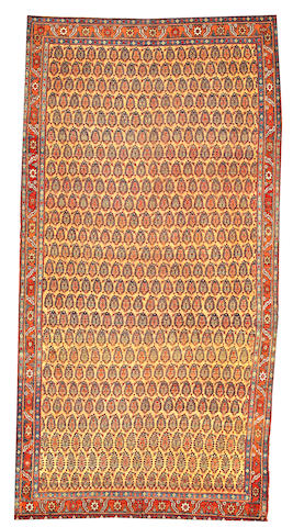A Northwest Persian carpet  Northwest Persia size approximately 6ft. 2in. x 11ft. 10in.
