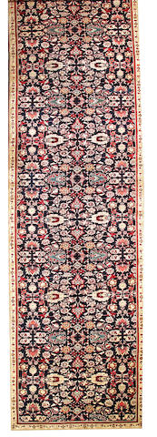 An Agra long carpet India size approximately 6ft. 2in. x 27ft.