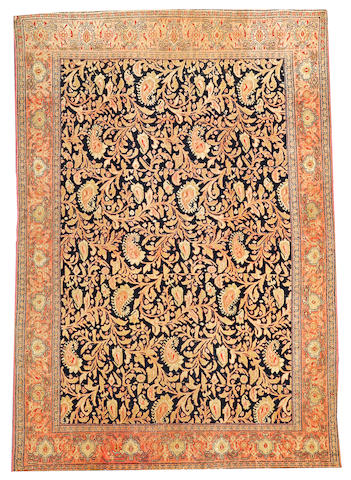 A Senneh rug  Central Persia size approximately 4ft. 4in. x 6ft. 2in.