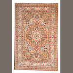 A Kerman rug  South Central Persia size approximately 4ft. 1in. x 6ft. 4in.