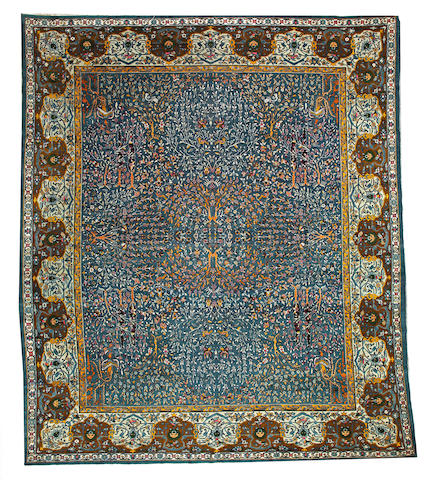 An Amritsar carpet  India size approximately 10ft. 10in. x 12ft. 9in.