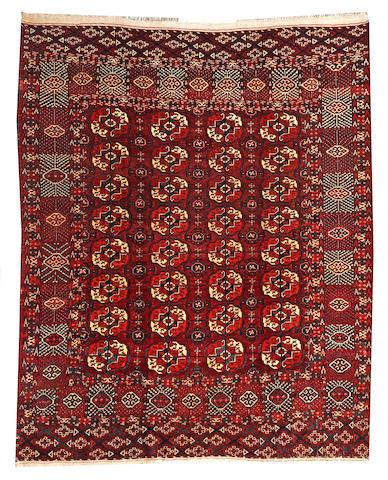 A Tekke rug  Turkestan size approximately 5ft. 7in. x 6ft. 8in.