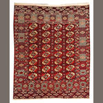 A Tekke rug  Turkestan size approximately 5ft. 7in. x 6ft. 8in.