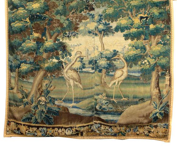 A Flemish Baroque landscape tapestry