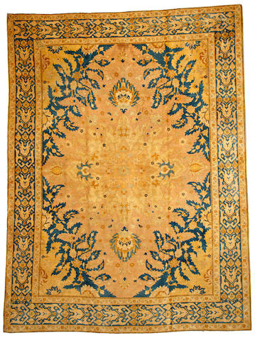A Tabriz carpet  Northwest Persia size approximately 8ft. 4in. x 11ft. 1in.