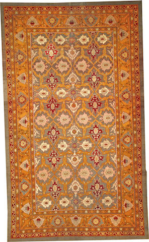 An Amritsar carpet India size approximately 8ft. 4in. x 14ft.