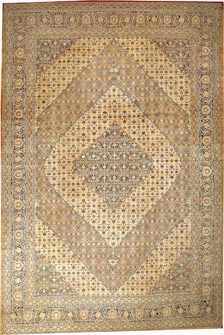 A Hadji Jalili Tabriz carpet Northwest Persia size approximately 10ft. 4in. x 15ft. 5in.