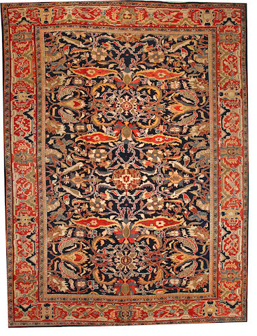 A Sultanabad carpet  Central Persia size approximately 12ft. x 16ft.
