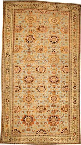 A Sultanabad carpet  Central Persia size approximately 11ft. 2in. x 20ft. 5in.