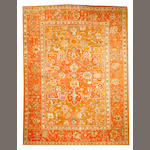 An Oushak carpet  West Anatolia size approximately 10ft. 7in. x 14ft. 4in.