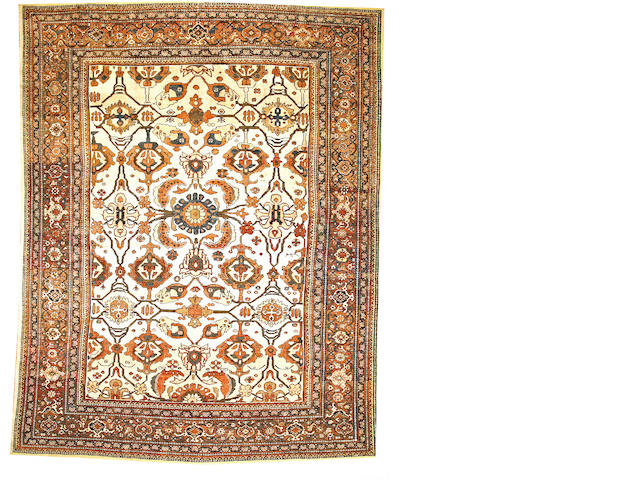 A Sultanabad carpet  Central Persia size approximately 10ft. 6in. x 13ft. 5in.
