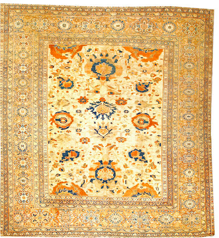 A Sultanabad carpet Central Persia size approximately 10ft. 7in. x 11ft. 6in.