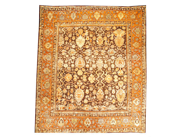 A Sultanabad carpet  Central Persia size approximately 10ft. 10in. x 12ft. 8in.