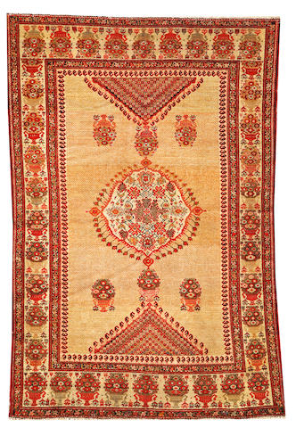 A Malayer rug Central Persia size approximately 4ft. x 6ft. 2in.