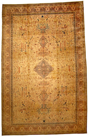 A Sivas carpet Turkey size approximately 12ft. 4in. x 19ft. 4in.