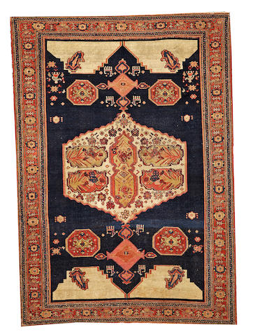 A Senneh rug  Northwest Persia size approximately 4ft. x 6ft.