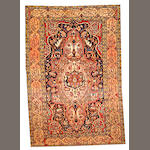 A Sarouk Fereghan rug Central Persia size approximately 4ft. 6in. x 6ft. 6in.