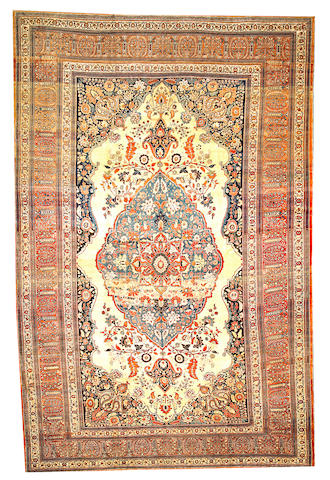 A Haji Jalili carpet Northwest Persia size approximately 10ft. 1in. x 15ft. 3in.