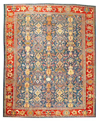 A Sultanabad carpet  Central Persia size approximately 12ft. 5in. x 15ft. 6in.