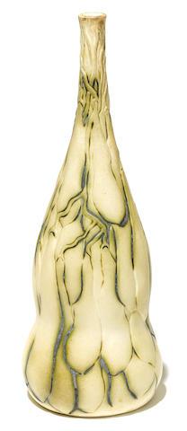 A Tiffany Studios pottery Squash vase circa 1905