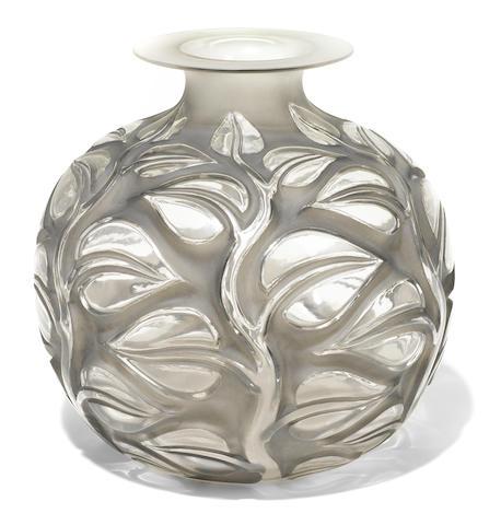An R. Lalique glass vase: Sephora