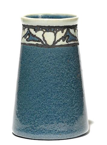 A Saturday Evening Girls landscape vase, round