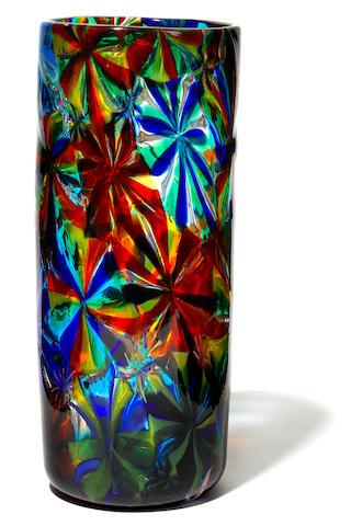 A Fratelli Toso Stellato vase