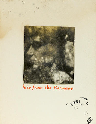 Wallace Berman, Love from the Bermans, 1962