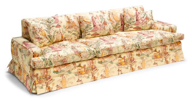 A William Haines upholstered sofa 1940-1945