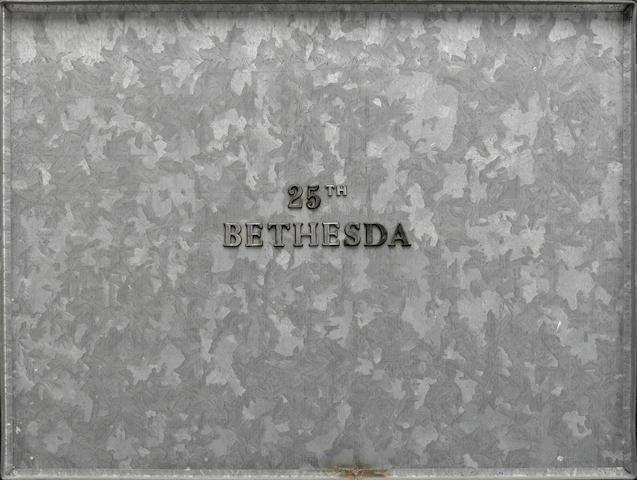 Edward Kienholz (1927-1994) 25th Bethesda 12 x 16in (30.5 x 40.6cm)
