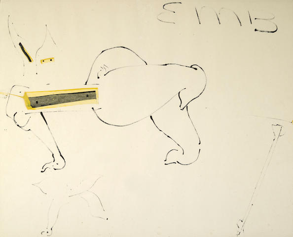 Ed Moses, Untitled (EMB), 1958-1959