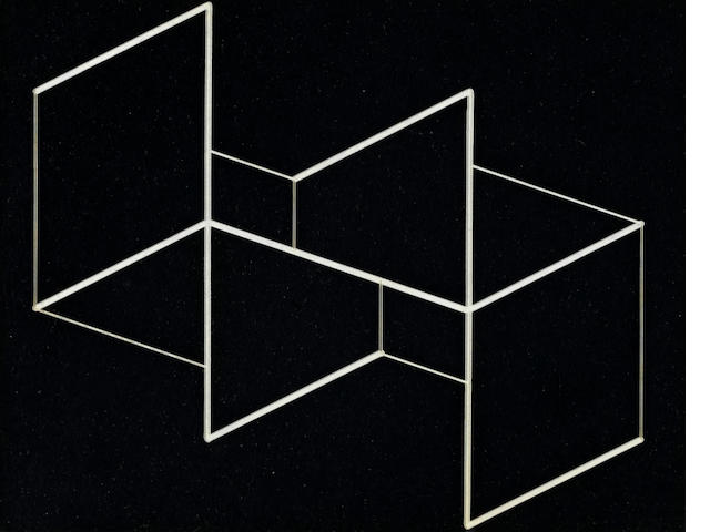Josef Albers (1888-1976) Structural Constellation, 1958 5 x 6 1/4in (12.7 x 15.9cm)
