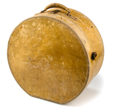 A Hat Box 	 early 20th Century <BR />