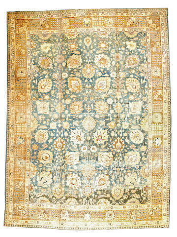 A Tabriz carpet  Northwest Persia size approximately 10ft. 3in. x 13ft. 9in.