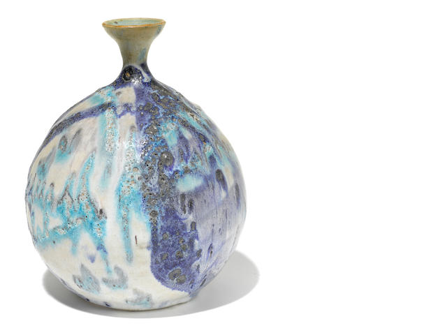 An Estelle Harper glazed earthenware vase circa 1960