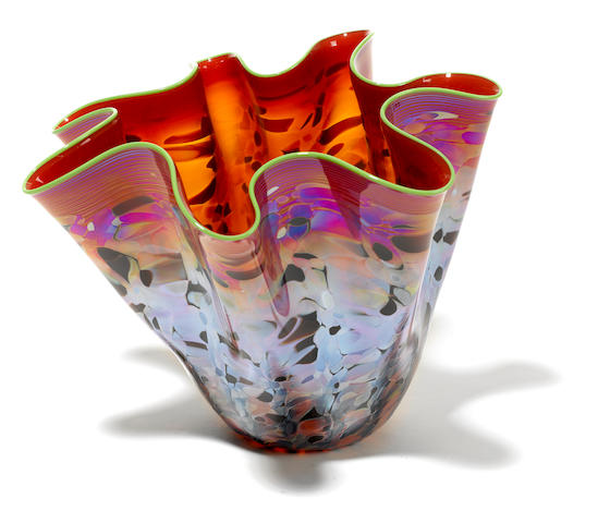 A Dale Chihuly blown glass Machia for Portland Press, 2001