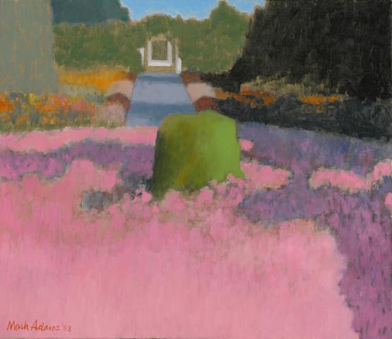 Mark Adams (1925-2006) Mossy Stump, 1993 26 x 30in (66 x 76.2cm)