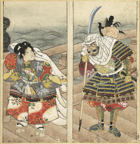 Attributed to Yanagi Buncho (1764-1801)<BR />Painting album